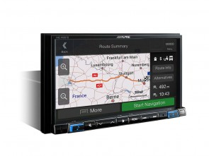 "Alpine INE-W997DC Advanced Navigation | 7"" Touch Screen Navigation with pre-installed Caravan, Camper and Truck Software"