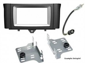 Alpine KIT-6.1SMT Fitting Kit Double Din | Smart Fortwo