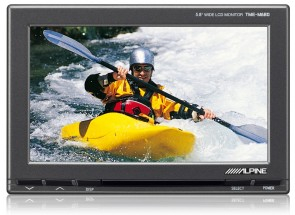 Alpine TME M680EM 5.8 inch Wide Screen Additional Video Monitor