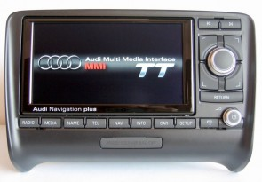 Audi TT (8J) RNS-E MEDIA Hi-Res 2010 Navigation Plus Retrofit