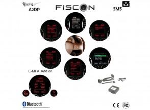 FISCON Bluetooth Handsfree Basic Plus | VW | Skoda | Seat | Micro Interior light
