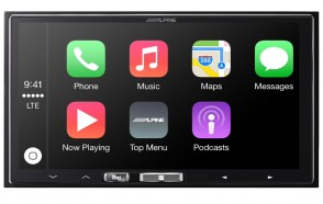 Alpine iLX 700 7 Inch Touchscreen In Dash Multimedia Receiver with Apple CarPlay