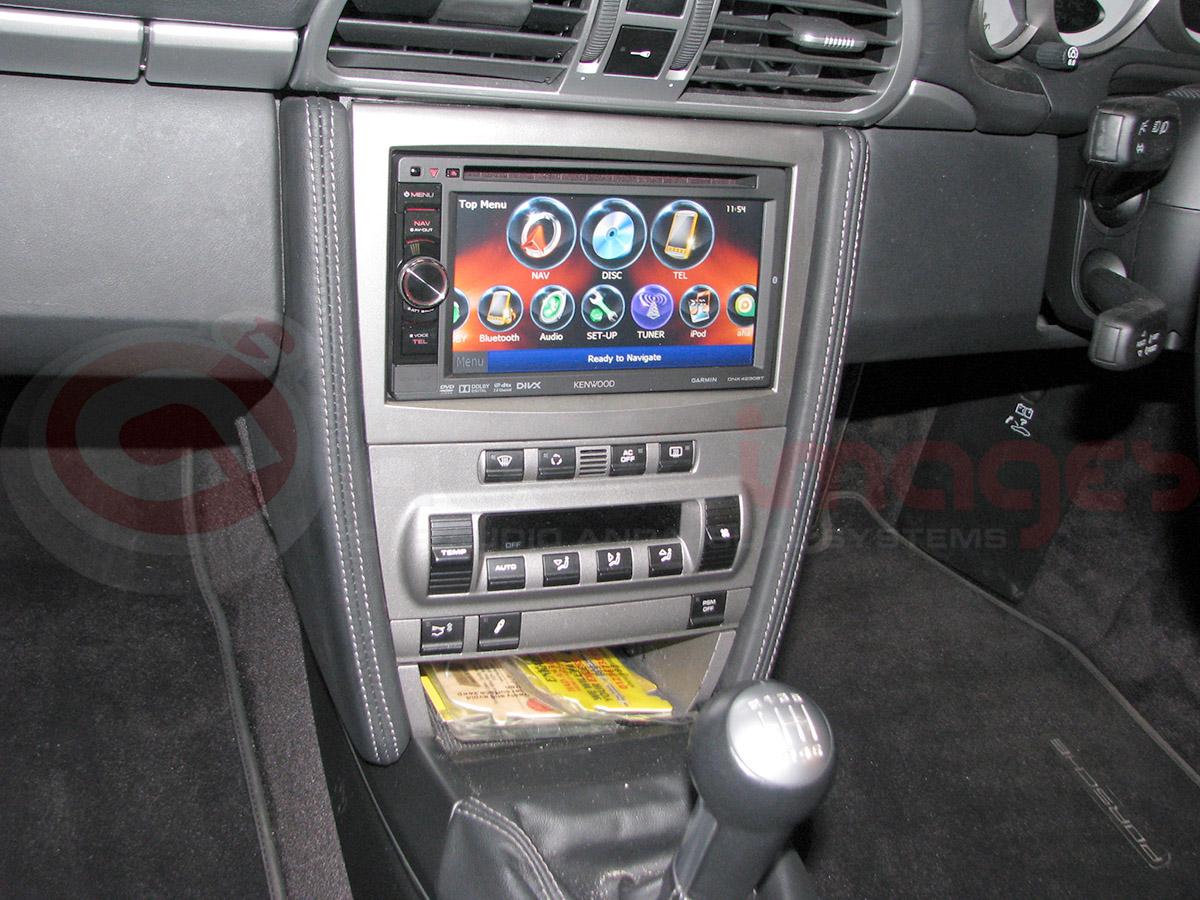 Porsche 997 Kenwood Double Din Installation Audio