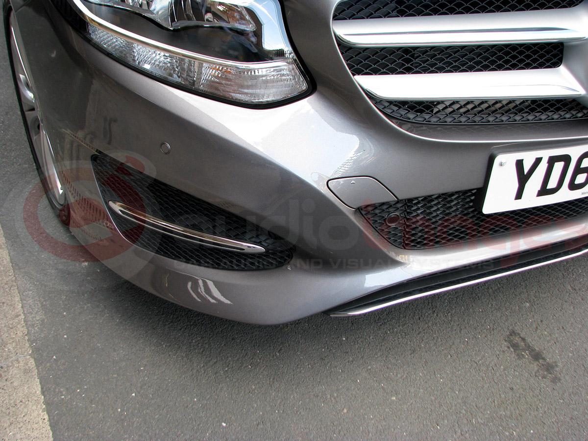 Mercedes b class parking sensors audio images workshop for Mercedes benz parking sensors