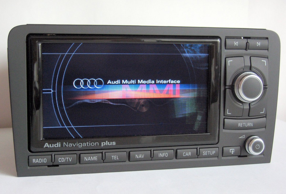 Audi A S P RNSE CHROME Navigation Plus Retrofit Audio Images - Audi rns e