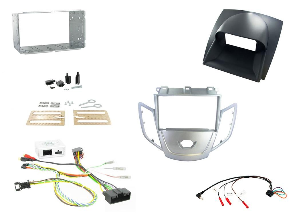 Connects2 CTKFD10 Ford Fiesta 10/> Silver Facia Radio Installation Kit