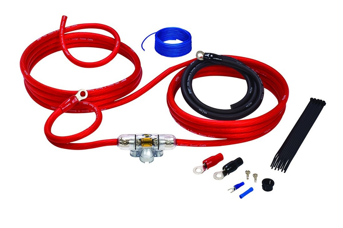 Stinger 4000 Series Sk4241 Power Only 150 Amps Wiring Kit Audio Images