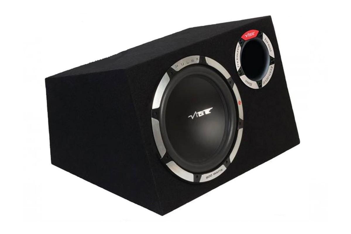 Vibe Pulsecbr12 V7 900 Watts 4 Ohm Bass Reflex Turbo Subwoofer Enclosure
