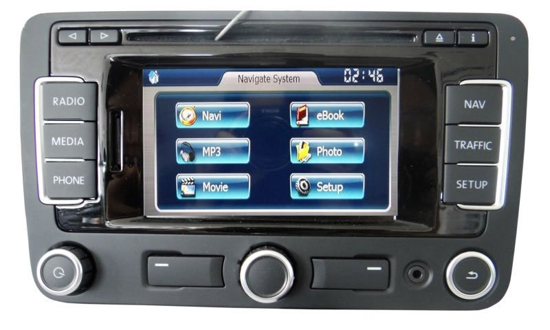 Vw Amp Seat Rns 315 Bt Dab Navigation Retrofit Audio Images