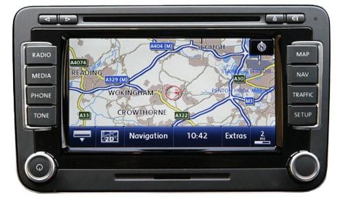 vw seat rns 510 navigation retrofit audio images. Black Bedroom Furniture Sets. Home Design Ideas