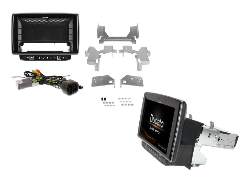 "Alpine X902D-DU | 9"" Touch Screen Navigation | Fiat Ducato Citroën Jumper  Peugeot Boxer | TomTom maps, Apple CarPlay/Android"