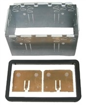 InCarTec 50-872 Radio Facia Double Din Cage kit | Alfa Romeo 159