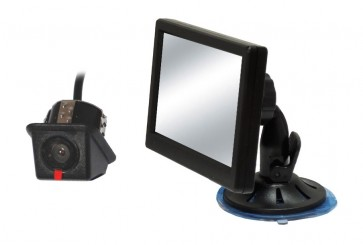 InCarTec CK-UNI-01 Universal push fit rear camera and monitor kit