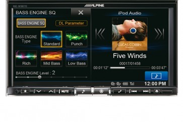 Alpine INE-W987D | 7 inch One Look Advanced Navi Station
