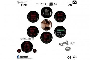 FISCON Bluetooth Handsfree Basic | VW | Skoda | Seat | Micro Interior light