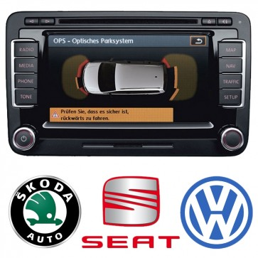 OEM Retrofit Kit - RNS 510 DAB Navigation System