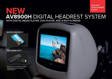 Rosen AV8900H Headrest Monitor