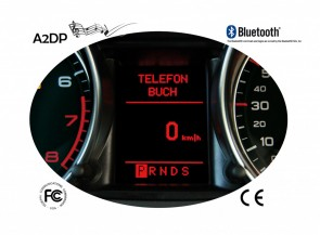 FISCON Bluetooth Handsfree Basic Quadlock | Audi | Seat