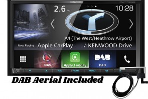 "Kenwood DNX7170DABS | 7.0"" Navigation/AV-Receiver with Bluetooth, DAB Radio & Smartphone Control"