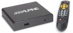 Alpine TUE DAB1U  Mobile DAB DAB+ Receiver with direct touch control