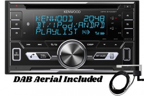 Kenwood | DPX-7100DAB Car Stereo with Bluetooth Handsfree, DAB and Spotify Control