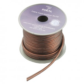 Focal ES4 ELITE Speaker Cable 12metre 4mm2 100% Copper Triple Shielded