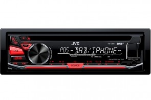 JVC KD-DB67 | Single din iPhone/Android Player