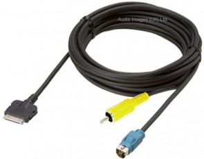 Alpine KCE 430iV High Speed Video iPod Cable for IVA D106R