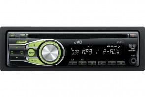 JVC KD-R332   CD Car stereo with front AUX input