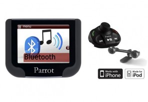 arrot MKi9200 Bluetooth Hands Free Car Kit for iPod and iPhone with Colour TFT Display