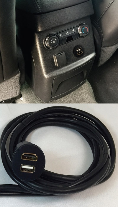 Rosen HDMI installation