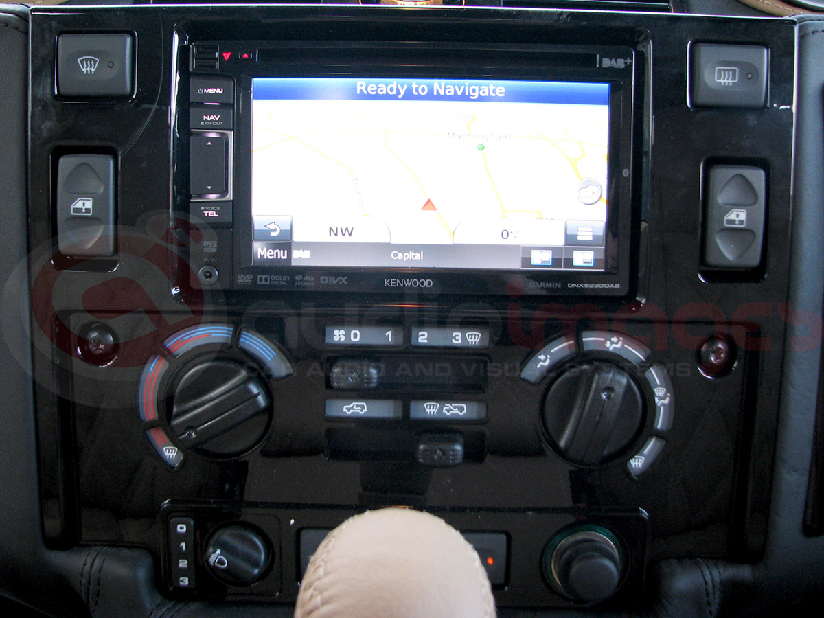 Land Rover Defender Headrest Screens Double Din Audio Images 2002 Acura Tl Aftermarket Radio 7