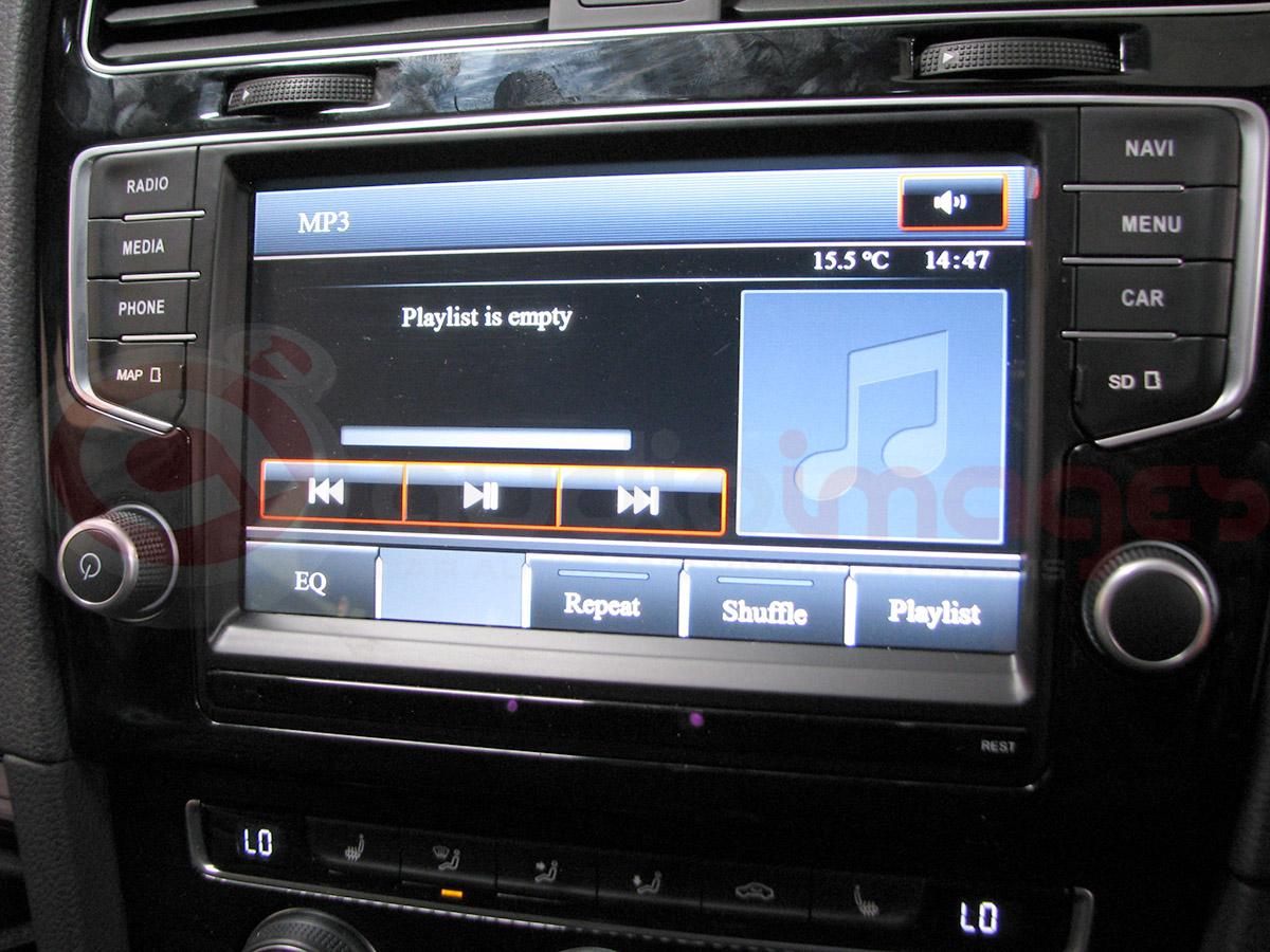 volkswagen golf mk 7 navigation upgrade audio images. Black Bedroom Furniture Sets. Home Design Ideas